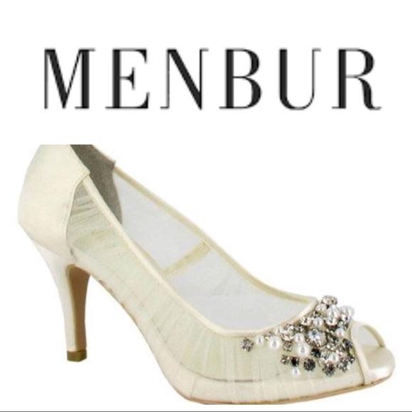 f82d6e7b98 Menbur Shoes | Kashi Wedding Pumps Ivory | Poshmark
